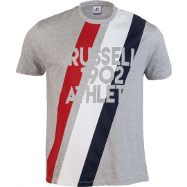Russell Athletic STRIPE 1902 S/S CREWNECK TEE SHIRT