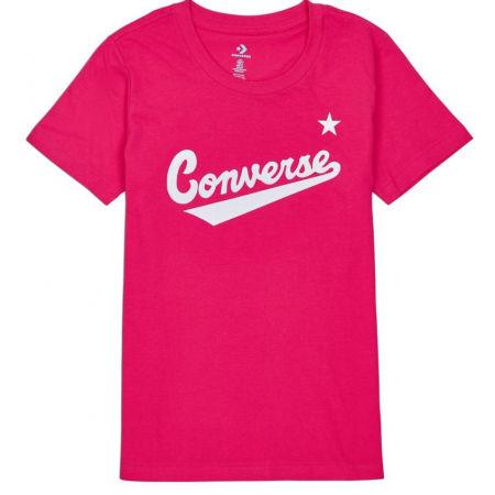 Converse WOMENS NOVA CENTER FRONT LOGO TEE