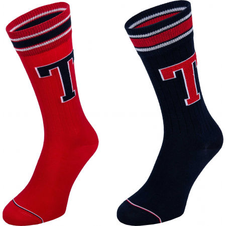 Tommy Hilfiger MEN TH PATCH SOCK 2P