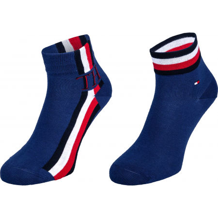 Tommy Hilfiger MEN QUARTER 2P ICONIC STRIPE
