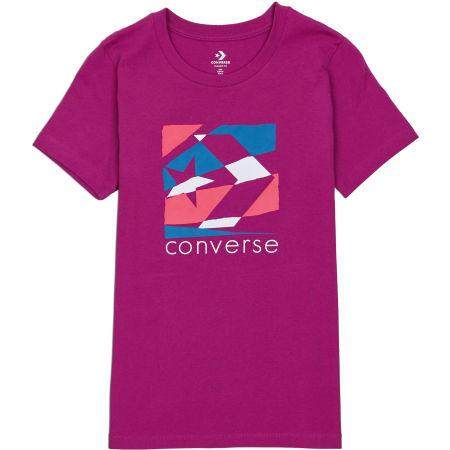 Converse WOMENS TORN CLASSIC TEE