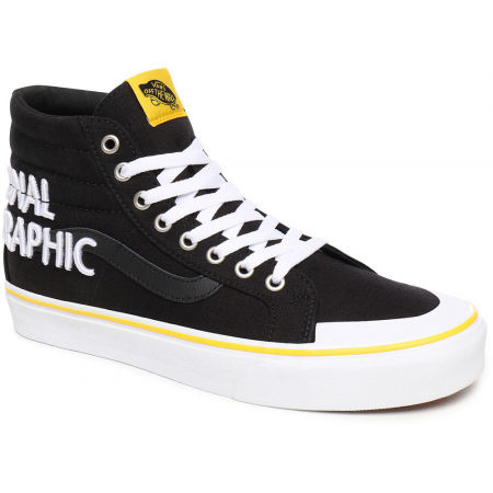 Vans UA SK8-HI REISSUE 138 NATIONAL GEOGRAPHIC LOGO