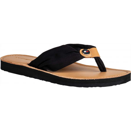 Tommy Hilfiger LEATHER FOOTBED BEACH SANDAL
