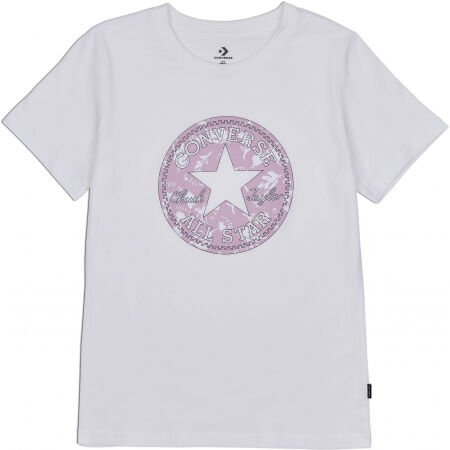 Converse FALL FLORAL PATCH GRAPPHIC TEE