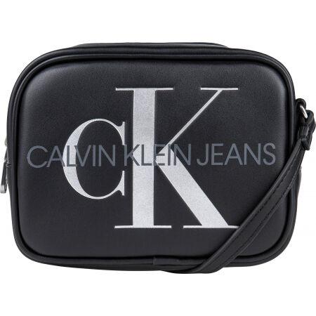 Calvin Klein SCULPTED CAMERA BAG SILVER