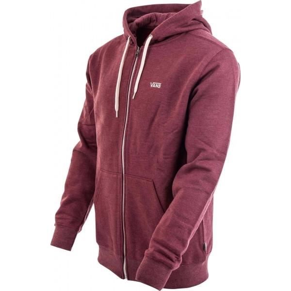 CORE BASICS ZIP HOODIE II - Férfi sportos pulóver