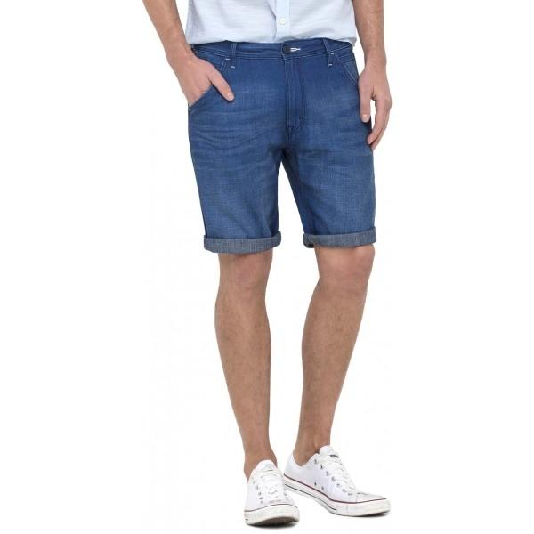 Férfi denim rövidnadrág