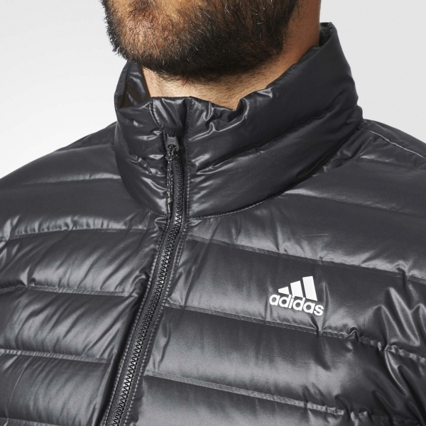 Adidas Varilite Down Jacket Férfi Kabát (Fekete Fehér) BS1588