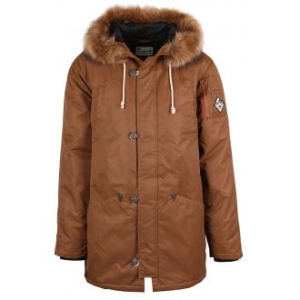 Férfi téli parka kabát