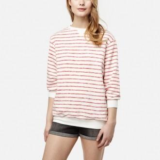Női csíkos pulóver