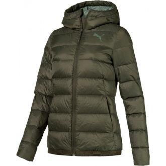 Női kabát kapucnival