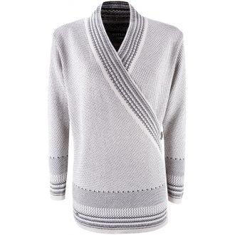 Női átkötős pulóver