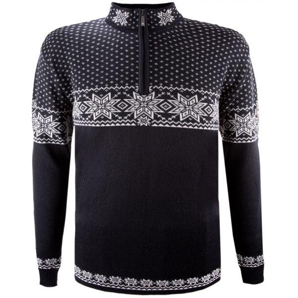Norvég mintás pulóver