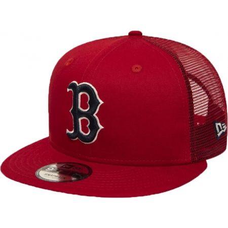 New Era 9FIFTY MLB ESSENTIAL A FRAME BOSTON RED SOX TRUCKER CAP