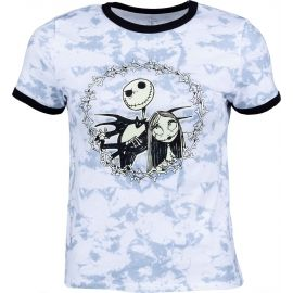 Vans WM JACK AND SALLY RINGER TEE (DISNEY) NIGHTMARE BEFORE CHRISTMAS