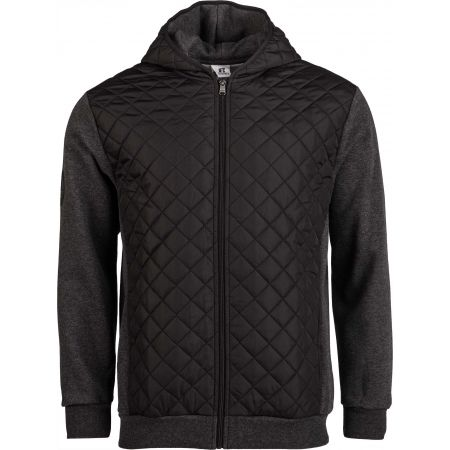 Russell Athletic QUILT-HOODED BOMBER JACKET