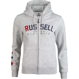 Russell Athletic PRINTED ZIP THROUGH HOODY SWEATSHIRT