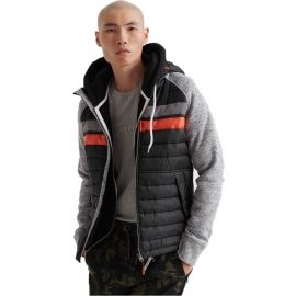 Superdry STORM CHEST STRIPE HYBRID ZIPHOOD