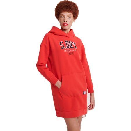 Superdry TRACK&FIELD STATEMENT BACK SWEAT DRESS