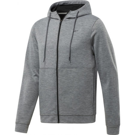 Reebok WORKOUT READY DOUBLE KNIT FZ HOODIE